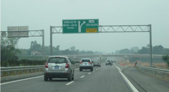 Chuẩn bị thông xe thêm 30 km cao tốc Nội Bài-Lào Cai