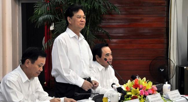 Thủ tướng Nguyễn Tấn Dũng: Sẽ có cơ chế đặc thù cho Đà Nẵng