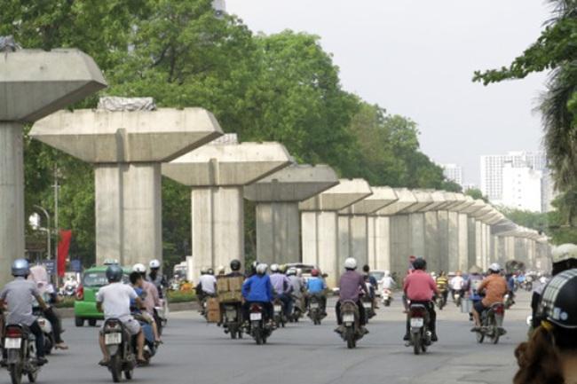 Đường sắt Cát Linh - Hà Đông ngổn ngang từ ga đầu đến ga cuối