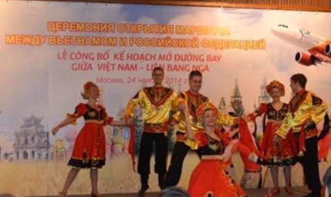 Mở đường bay Việt Nam - Nga