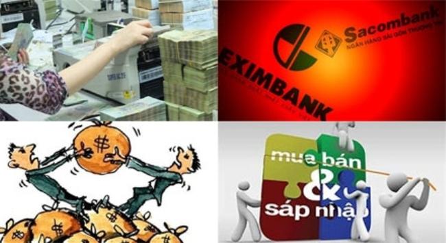 Đổi chủ ngân hàng: Vòng xoáy đang cuộn mạnh