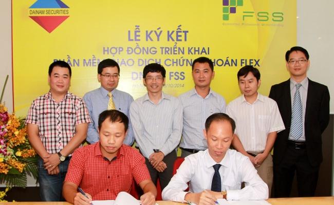 Chứng Khoán Đại Nam ký hợp đồng triển khai phần mềm giao dịch chứng khoán Flex