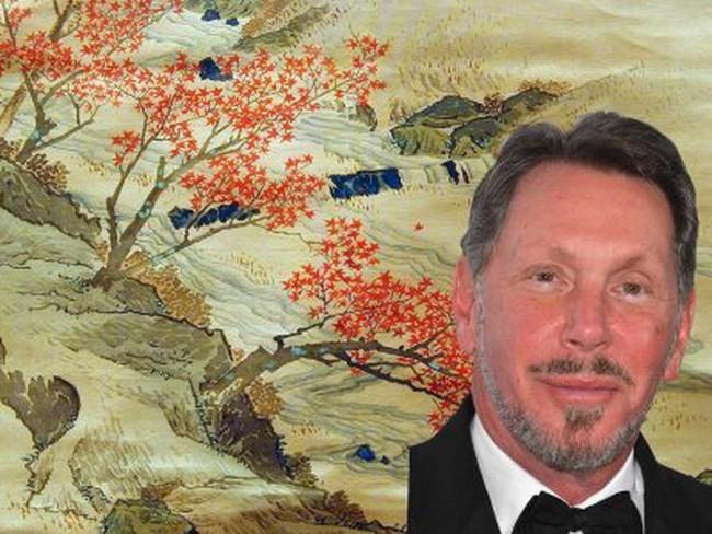 Tỷ phú Larry Ellison thành 'trùm nhà đất' vì… yêu nghệ thuật
