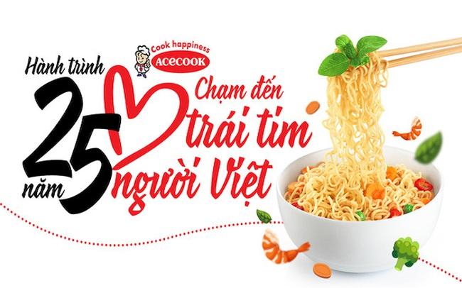 Acecook Việt Nam - Hành trình 25 năm chạm đến trái tim người Việt