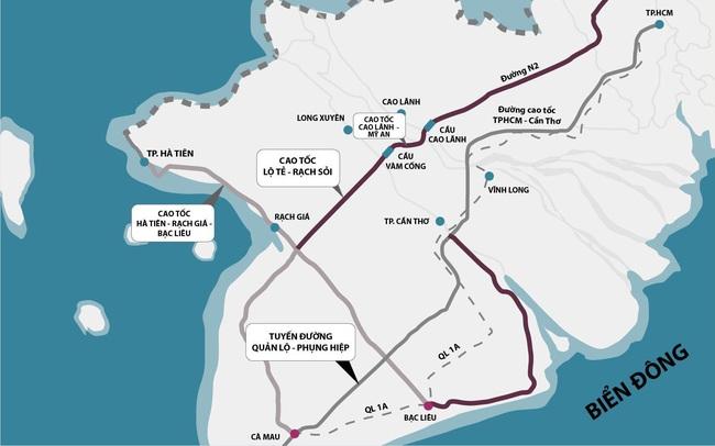 Thông tuyến Lộ Tẻ - Rạch Sỏi, nâng cấp QL80, BĐS Hà Tiên đón thời cơ lớn