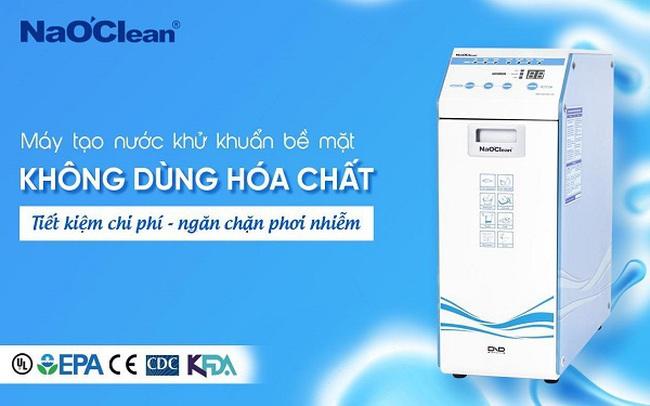 Hơn 7000 bệnh viện, cơ sở y tế, trường học, cơ quan chính phủ tại Hàn Quốc sử dụng máy tạo nước khử  khuẩn NaOClean