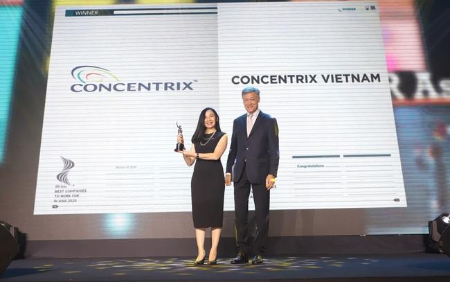 """Concentrix Việt Nam chiến thắng giải thưởng """"HR Asia - Nơi làm việc tốt nhất Châu Á năm 2020"""""""