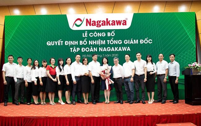Tập đoàn Nagakawa bổ nhiệm Tổng giám đốc mới
