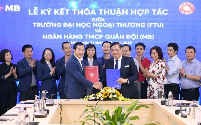MB ký kết thỏa thuận hợp tác toàn diện với Trường Đại học Ngoại thương