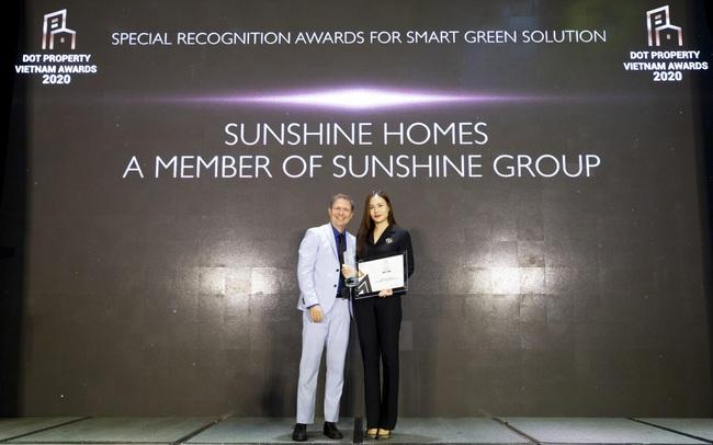 Dấu ấn đặc biệt của Sunshine Group tại Dot Property Vietnam Awards 2020