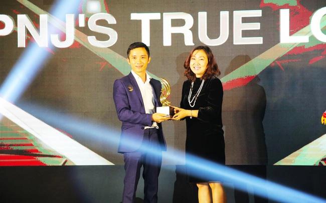 PNJ nhận giải thưởng chiến dịch pr toàn cầu xuất sắc nhất do PR Newswire bình chọn