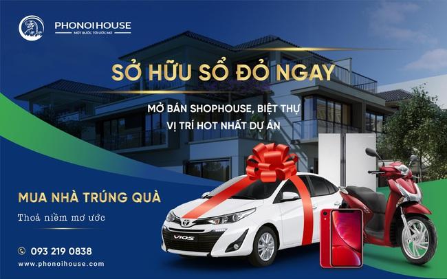 Phố Nối House ưu đãi lớn nhân dịp mở bán loạt shophouse đẹp nhất dự án