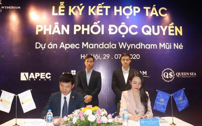 Apec Group ký kết phân phối độc quyền dự án tại Mũi Né với Queen Sea