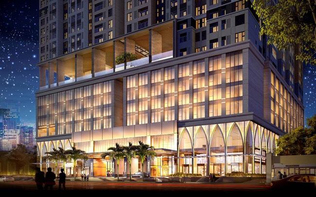 Căn hộ hạng sang tích hợp khách sạn cao cấp thu hút doanh nhân quốc tế
