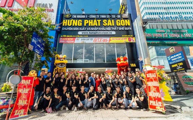 Hưng Phát Sài Gòn ra mắt dòng sofa da cao cấp hàng đầu Việt Nam
