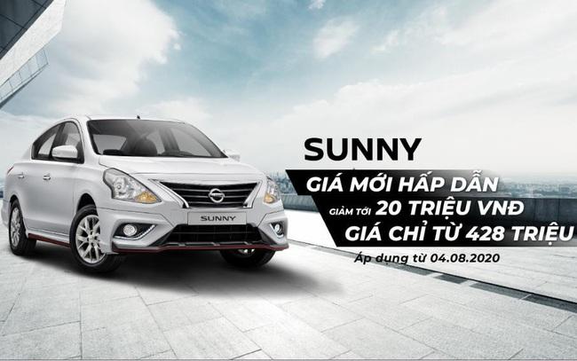 Mức giá mới đặc biệt cho Nissan Sunny và ưu đãi tháng 8 cho các dòng xe Nissan