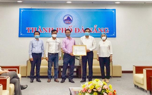 Tập đoàn PPC An Thịnh trao tặng máy móc, hoá chất trị giá 2 tỷ đồng cho TP Đà Nẵng