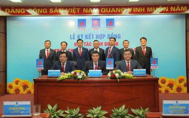 Ký kết hợp tác kinh doanh chuỗi giá trị Khí - Điện - Dịch vụ trong PVN