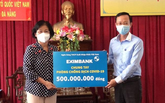 Eximbank ủng hộ 500 triệu đồng tiếp sức cùng Đà Nẵng phòng chống dịch
