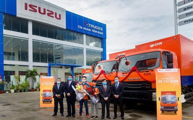 """ISUZU Vân Nam tổ chức """"Lễ Bàn Giao"""" hơn 50 xe tải các loại cho GHN Logistics"""