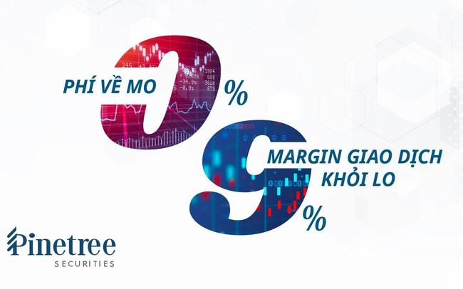 Margin tăng nhanh nhất thị trường, Pinetree Securities tiếp tục nới room và danh mục ký quỹ