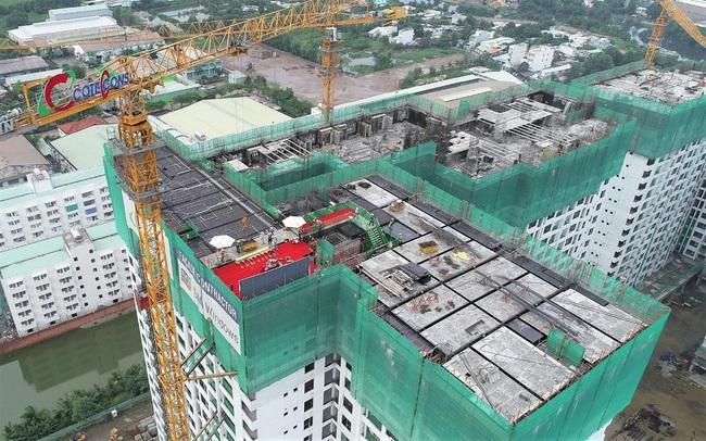 Akari City thi công vượt tiến độ, chính thức cất nóc giai đoạn 1