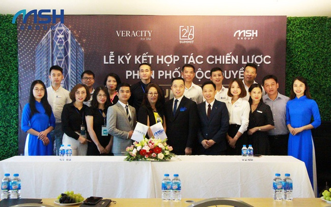 Veracity ký kết phân phối độc quyền dự án Summit Building với MSH Group