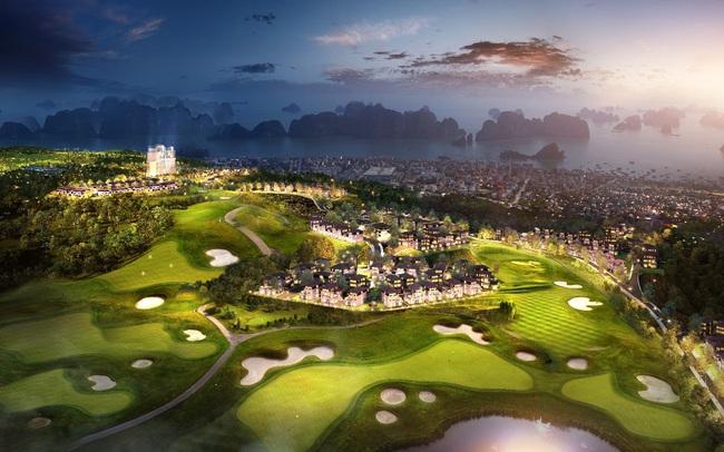 Ngắm trọn Hạ Long từ khu biệt thự sân golf độc đáo tại Quảng Ninh