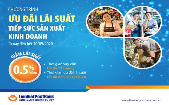 LienVietPostBank – Chung tay cùng cá nhân và hộ kinh doanh, sản xuất hàng tiêu dùng trong mùa dịch