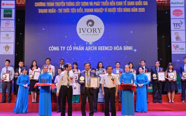 Ivory Villas & Resort: Top 10 Thương hiệu Vàng Việt Nam 2020