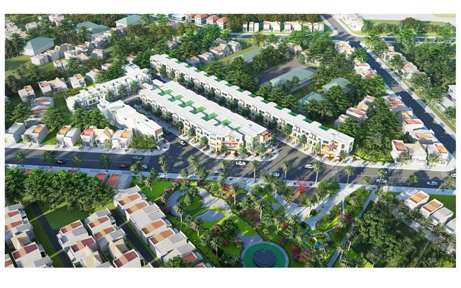 Dự án nhà phố shophouse hiện đại tiên phong tại Bình Chuẩn