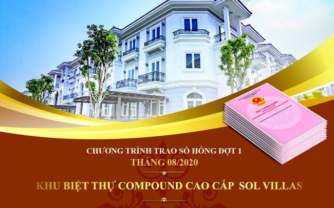 39 khách hàng đầu tiên nhận sổ hồng của khu biệt thự Compound cao cấp Sol Villas