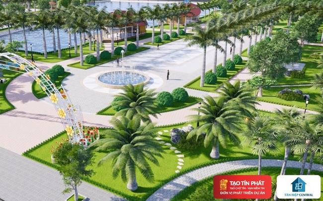 Phường Tân Hiệp xuất hiện dự án sở hữu một trong những công viên lớn nhất khu vực