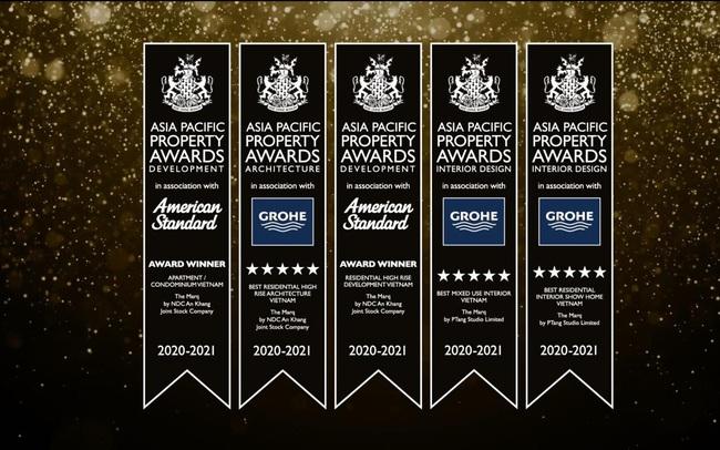 The Marq được vinh danh với 5 giải thưởng danh giá tại Asia Pacific Property Awards