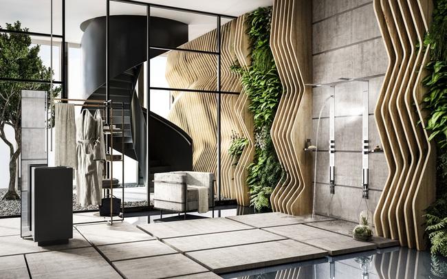 Vietceramics giới thiệu 5 không gian phòng tắm chú trọng đến sức khỏe gia chủ