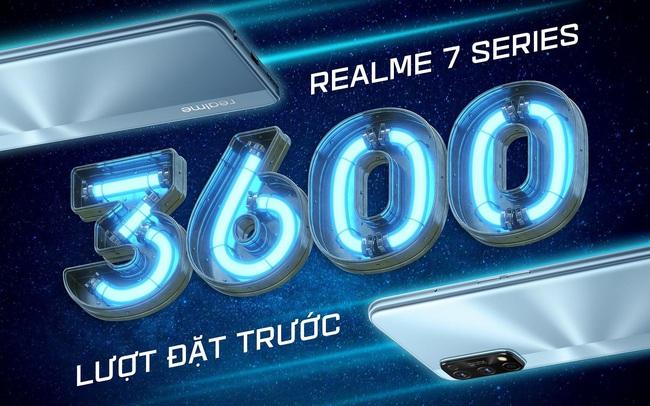 Realme 7 series đạt mốc 3,600 đơn đặt hàng chỉ trong vòng 4 ngày đặt hàng trước
