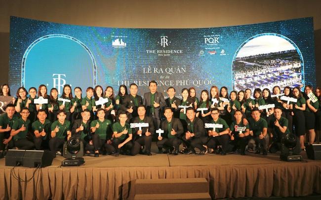 Lễ ký kết phân phối The Residence Phú Quốc giữa Hạ Tầng Đô Thị Corp và Địa ốc PQR