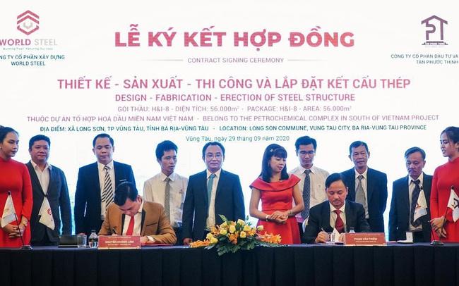 World Steel Group: Triển khai gói thầu 10 triệu USD tại Dự án Hóa Dầu Long Sơn