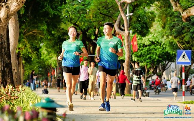 """""""Đón bình minh – chào bình thường mới"""" cùng VPBank Hanoi Marathon Asean 2020"""