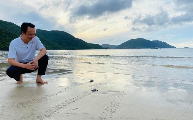 Ông Trịnh Văn Quyết kể khoảnh khắc thả rùa con về biển: trải nghiệm kỳ thú bậc nhất tại Côn Đảo