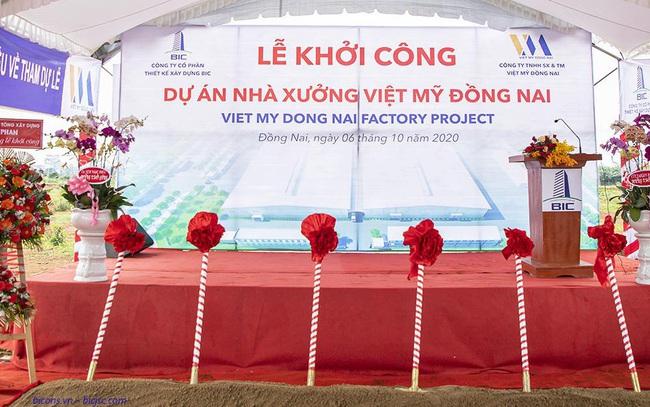 Công ty CP thiết kế xây dựng BIC khởi công xưởng gỗ Việt Mỹ Đồng Nai