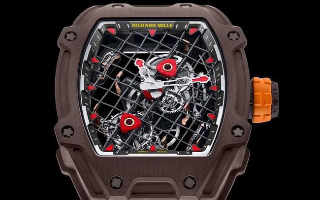 RM 27-04 Tourbillon: Mẫu đồng hồ kỷ niệm 10 năm hợp tác giữa Richard Mille và Rafael Nadal
