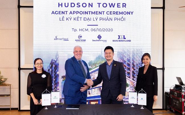 City Garden Thủ Thiêm ký kết hợp tác với 4 nhà phân phối lớn cho Hudson Tower