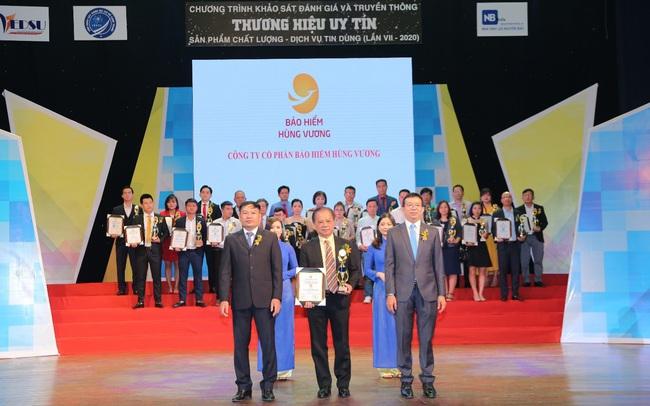 Bảo hiểm Hùng Vương được vinh danh TOP 10 Thương hiệu uy tín năm 2020