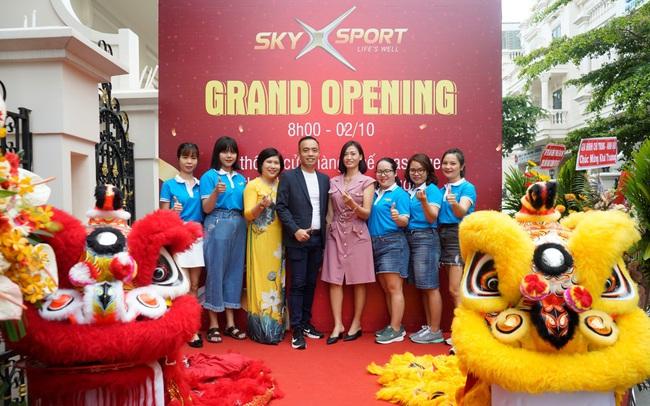 SkyX Sport khai trương ra mắt thương hiệu với ưu đãi cực lớn