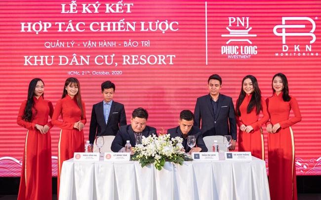 Lễ ký kết hợp tác chiến lược giữa Phúc Long PNJ và đơn vị vận hành ĐKN