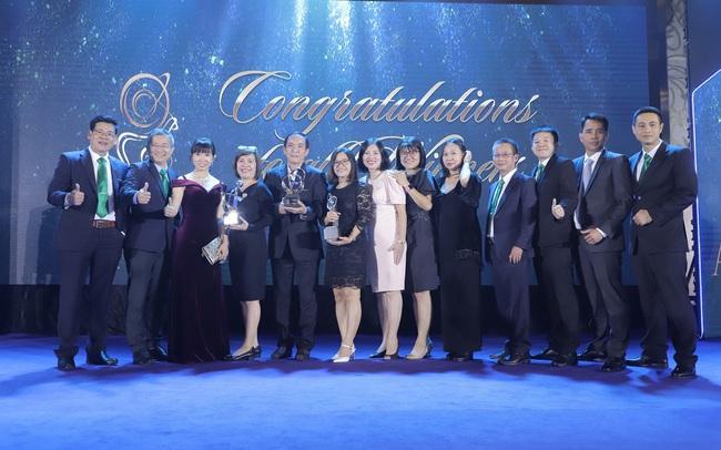 """NutiFood lập """"Hat-trick"""" với 3 giải thưởng về doanh nghiệp và lãnh đạo xuất sắc châu Á"""