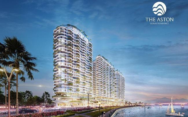 Dáng hình sóng biển Nha Trang tái hiện trong thiết kế The Aston Luxury Residence