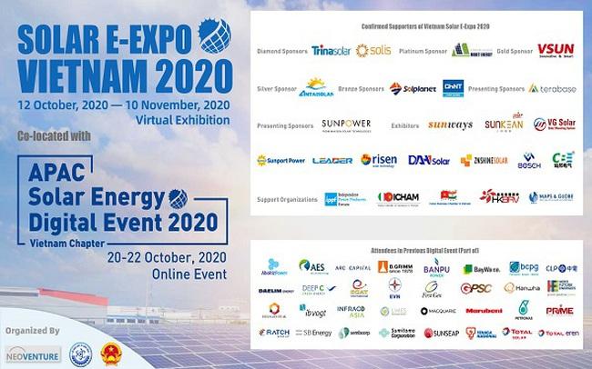 Vietnam Solar E-Expo 2020: Nền tảng kết nối kinh doanh trực tuyến một cửa được tổ chức