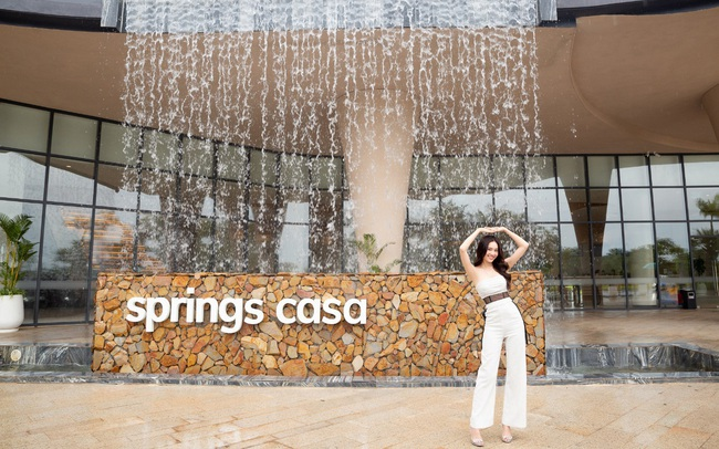Diễn viên Lan Ngọc tìm đến Minera Hot Springs Bình Châu để tận hưởng và thư giãn
